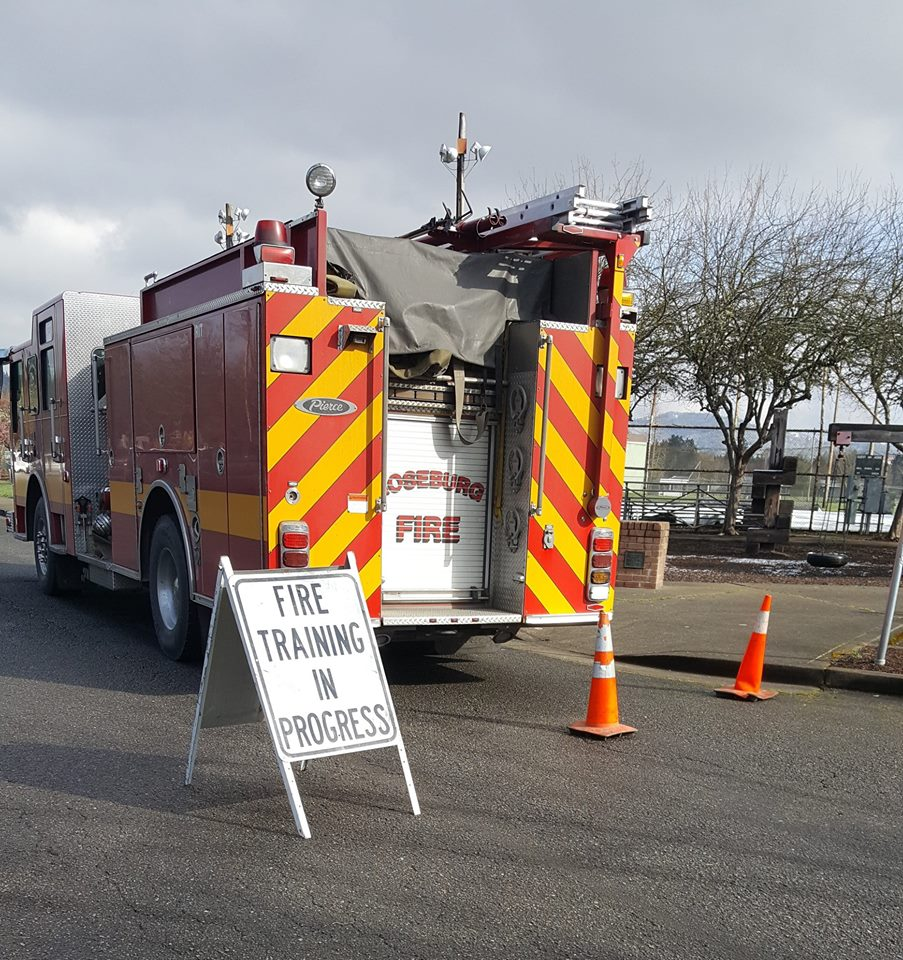 Roseburg Fire Department to Conduct Training at Old Safeway Site - 4-22-19 (Photo) featured image