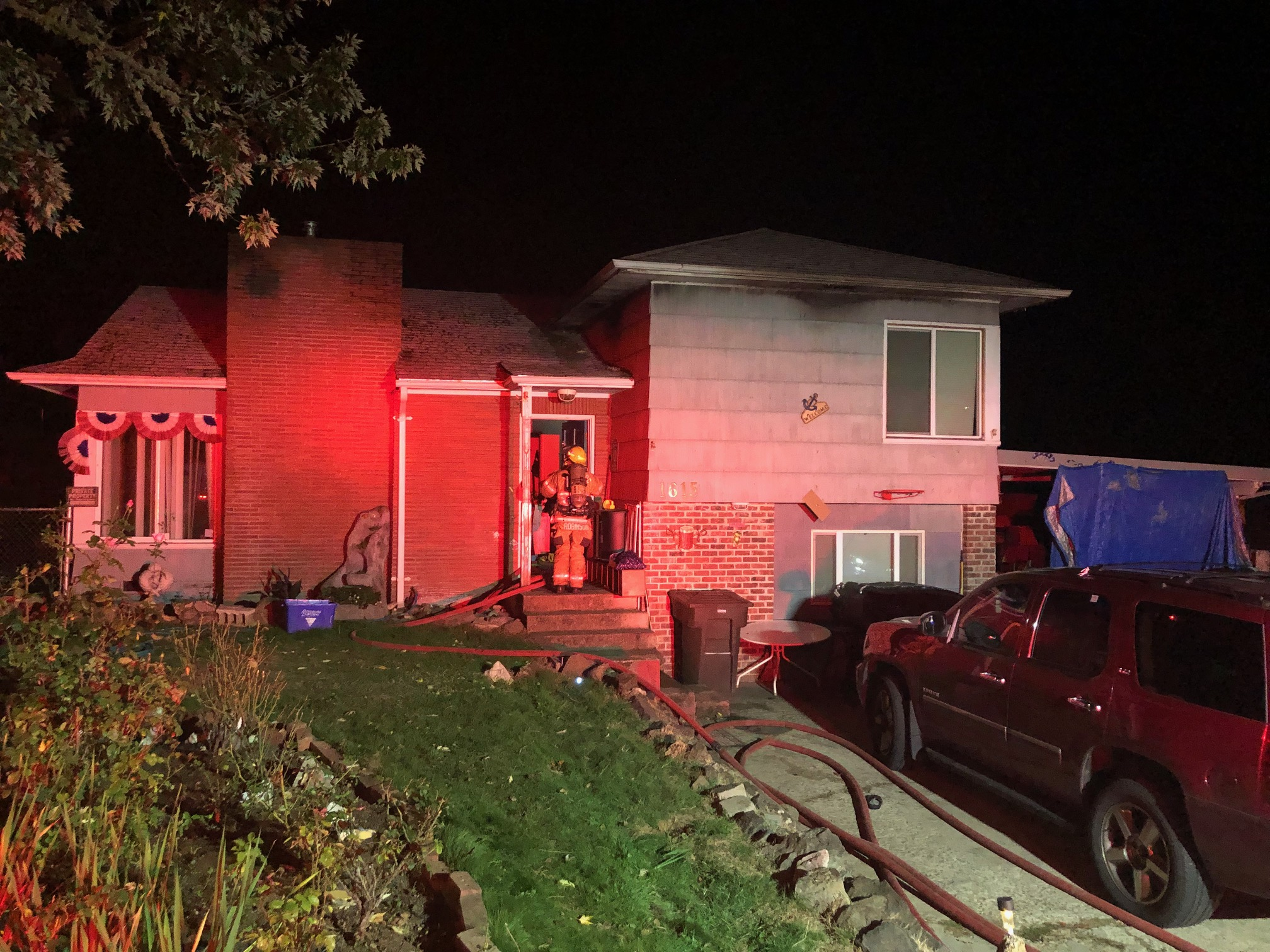 Residential Structure Fire - 1615 NW Utah Street - 10-7-19 (Photo) featured image