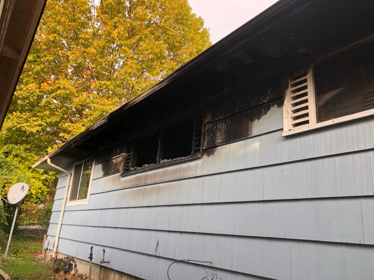 Residential Structure Fire - 1748 NW Otie Street - 10-16-19 (Photo) featured image