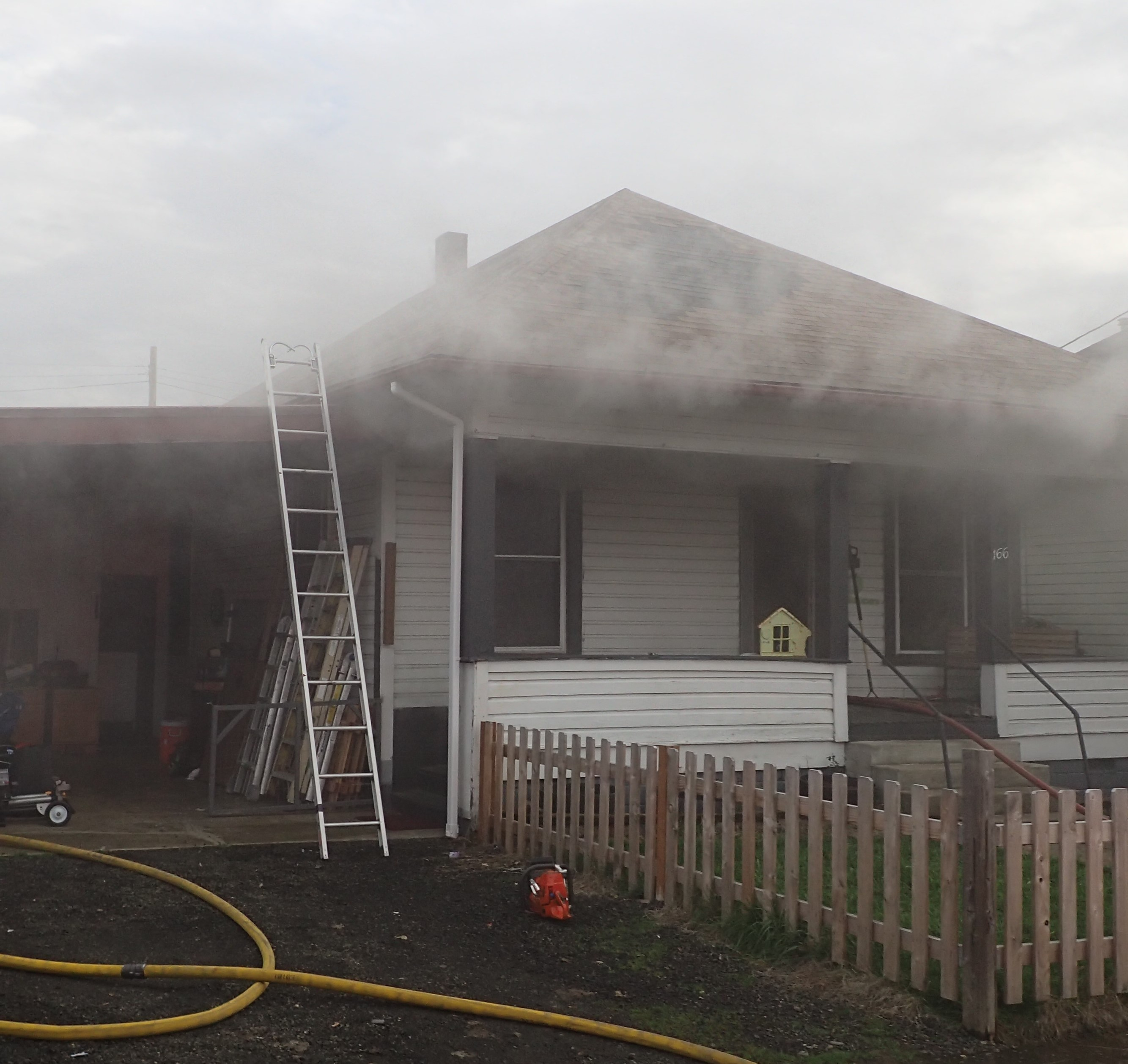 Residential Structure Fire - 166 SE Hoover Avenue - 1-7-20 (Photo) featured image